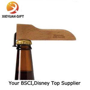 Wood Material Bulk Bottle Opener with Logo (XY-mxl91705)