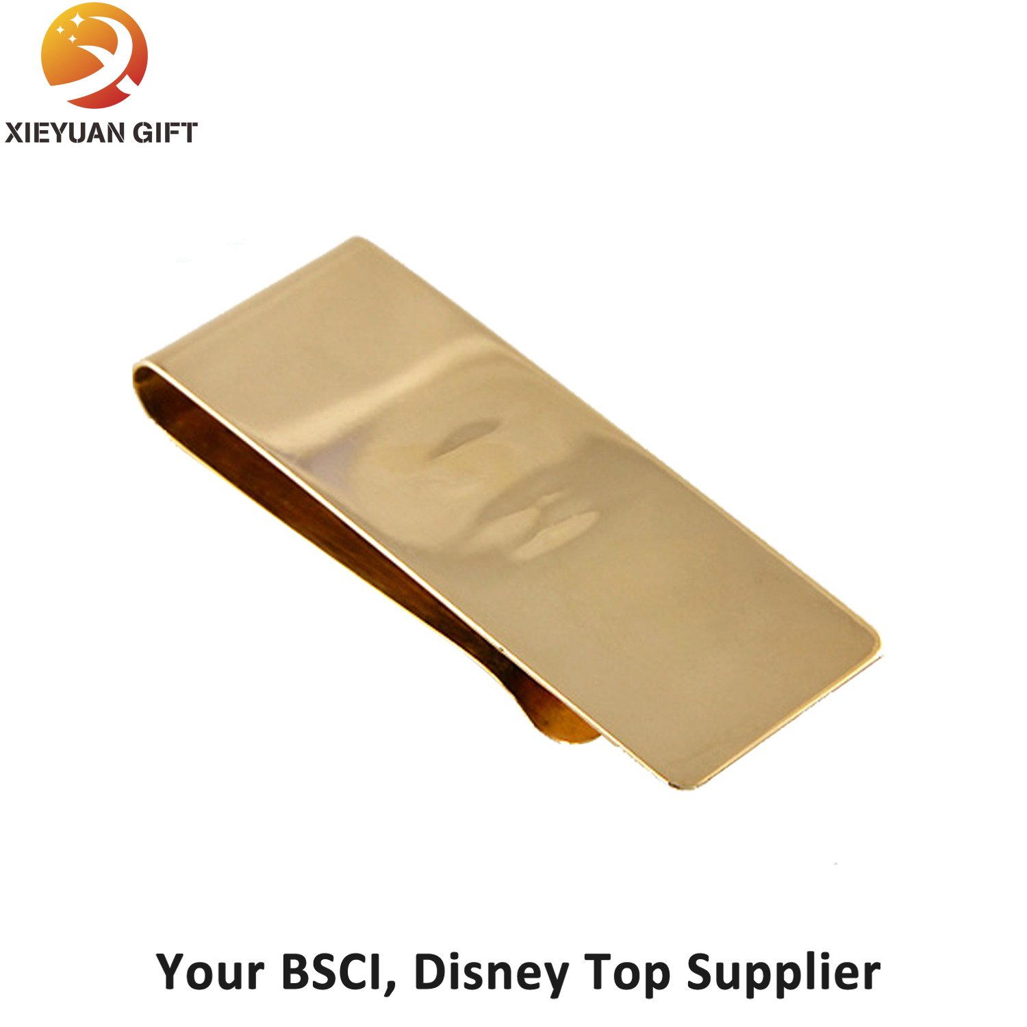 2015 Most Popular Gold Plating Custom Money Clip