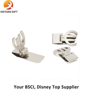 China Supplier Wholesale Stainless Money Clip for Gifts