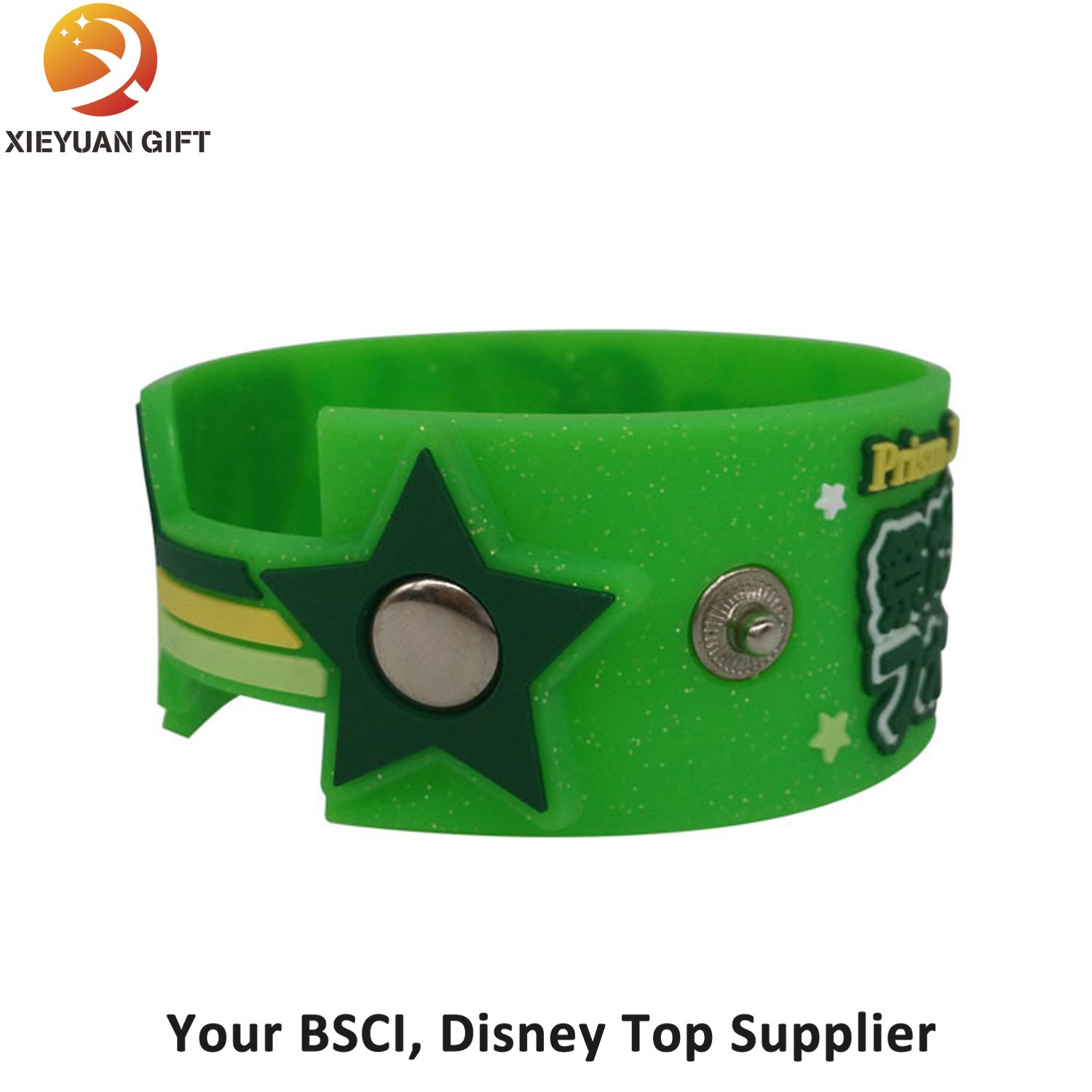 Debossed and Filled Color Bulk Cheap Silicone Wristbands