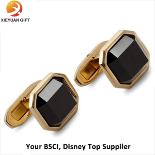 Promotional Brass Gift Cufflinks Manufacture Diamond Cufflinks