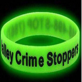Factory Supply Custom Logo Glow Wristband for Event