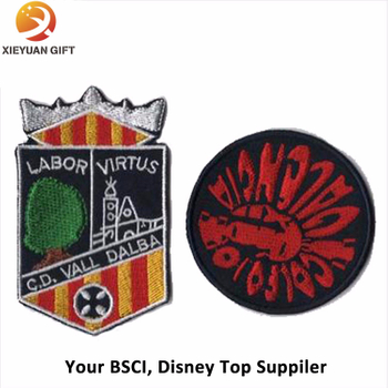 Hand Embroidery Bullion Badge/Custom Souvenir Badge