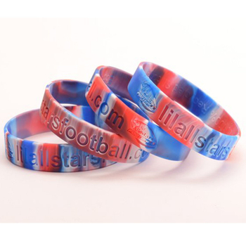 Gradual Color Silicone Wristband