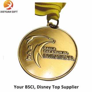 China Factory Direct Sale Running Sport Medal with Ribbon