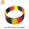 Fashion Design Qr Code Silicone Wristband Made in China