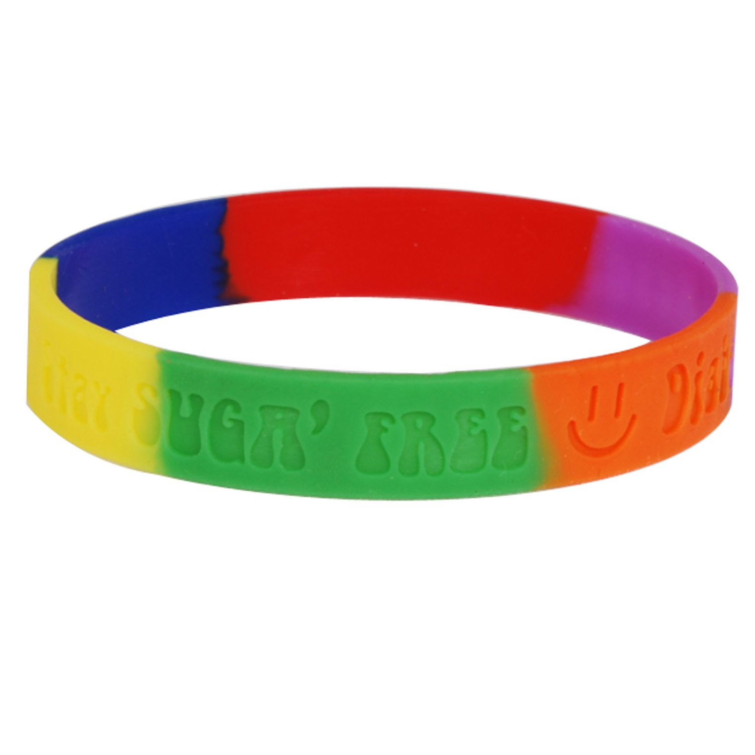 Wholesale Cheap Crossfit Silicone Wristbands with Printing