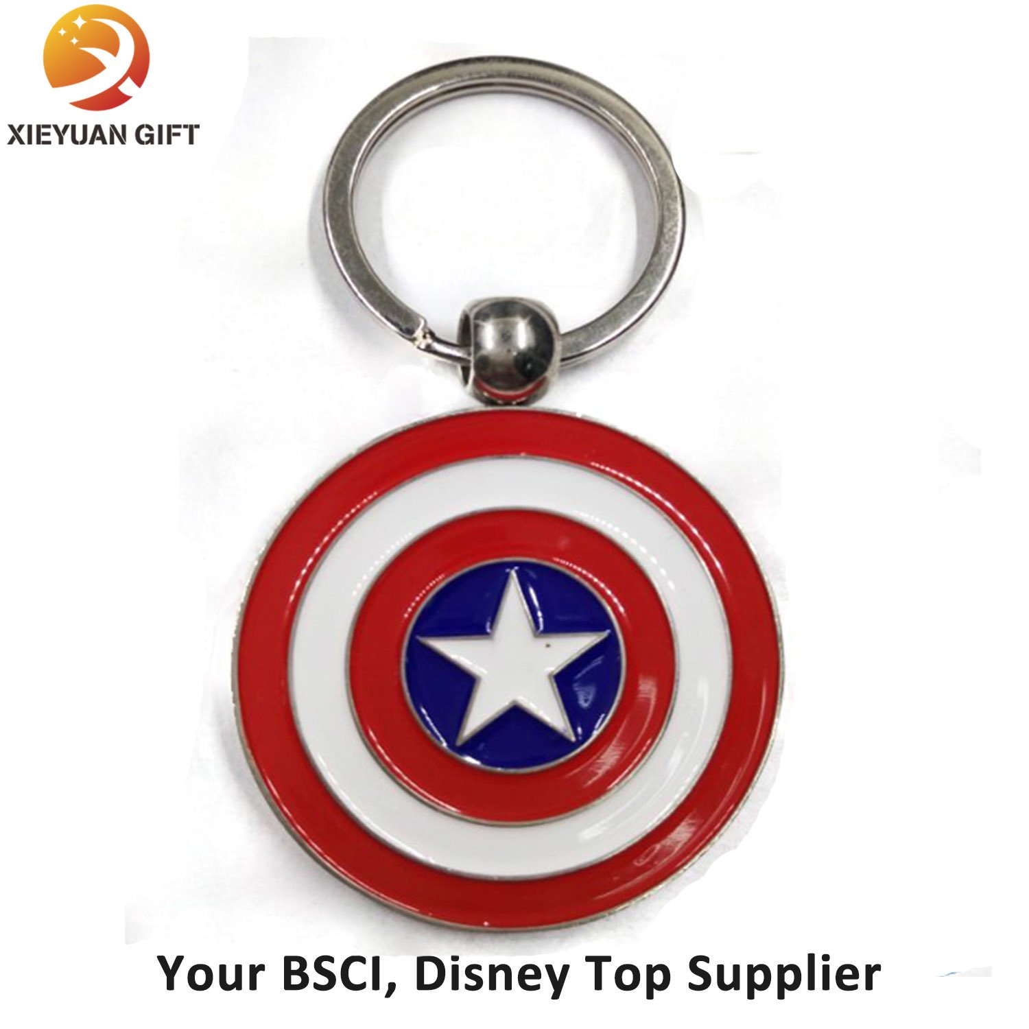 Customized Wholesale Unique Design Captain Keychain