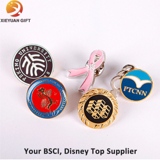 Top Sale Gold Metal Badges with Eagle
