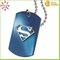 Custom Metal Crafts Blue Plat Zinc Alloy Dog ID Dog Tags with Sign