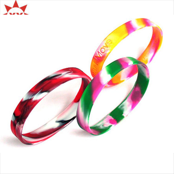 Embossed Process Silicone Wristband for Kids