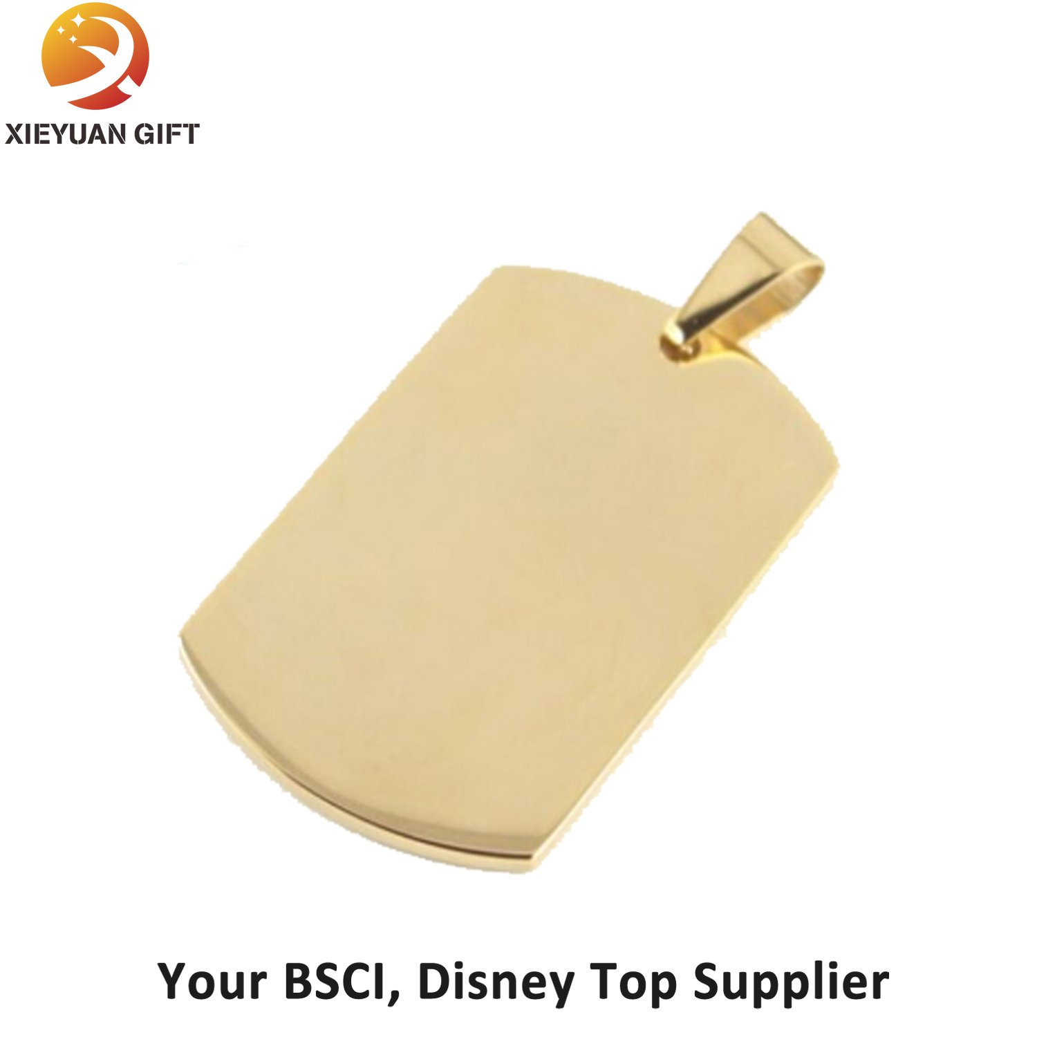 China Supply Metal Dog Tags Wholesale with Chain