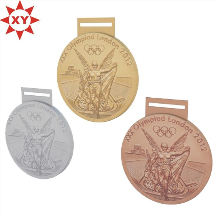Zinc Alloy Casting Sport London Medals for Sport Events