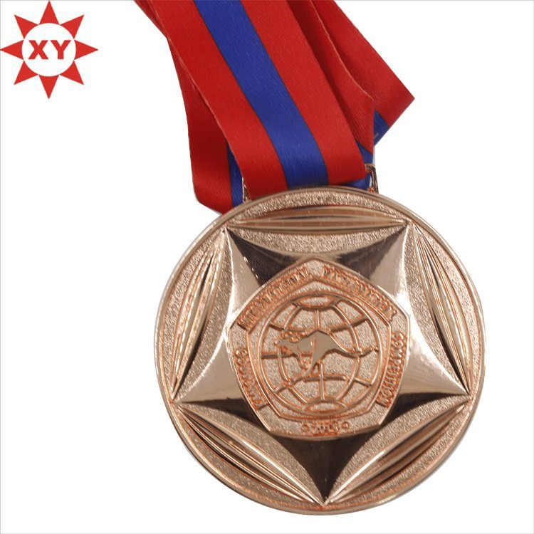 Top Sale Copper Classic Awards Medals and Ribbons (XY-mxl9404)