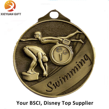 2015 New Products Custom Swimming Medal