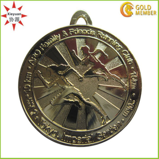 Running Sport Medal with Brass Wholesale in China