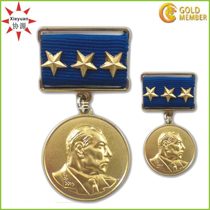 High Quality Copper Officer Military Medal