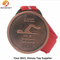 High Quality Sports Antique Copper Medals with Red Ribbon