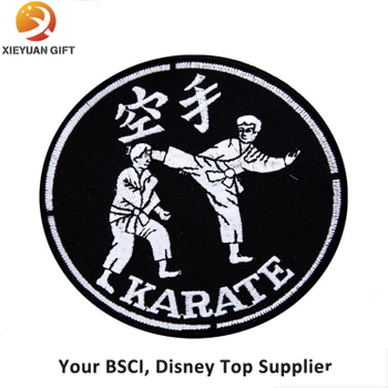 Factory Supply Custom Machine Judo Embroidery Badge