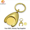 Custom Gold Plating Trolley Coin Key Chain