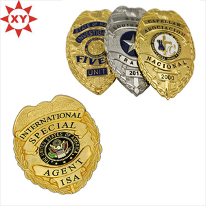3D Engraved Metal Badges with Your Logo