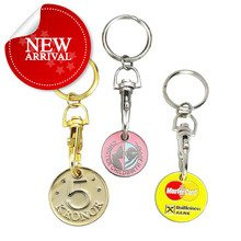 Factory Direct Sell Sophisticated Technology Zinc Alloy Enamel Trolley Coins