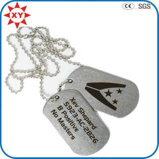 Wholesale Cheap Custom Logo Dog Tags Necklace
