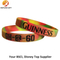 Hight Quality Brazll Silicone Wristbands with Colors