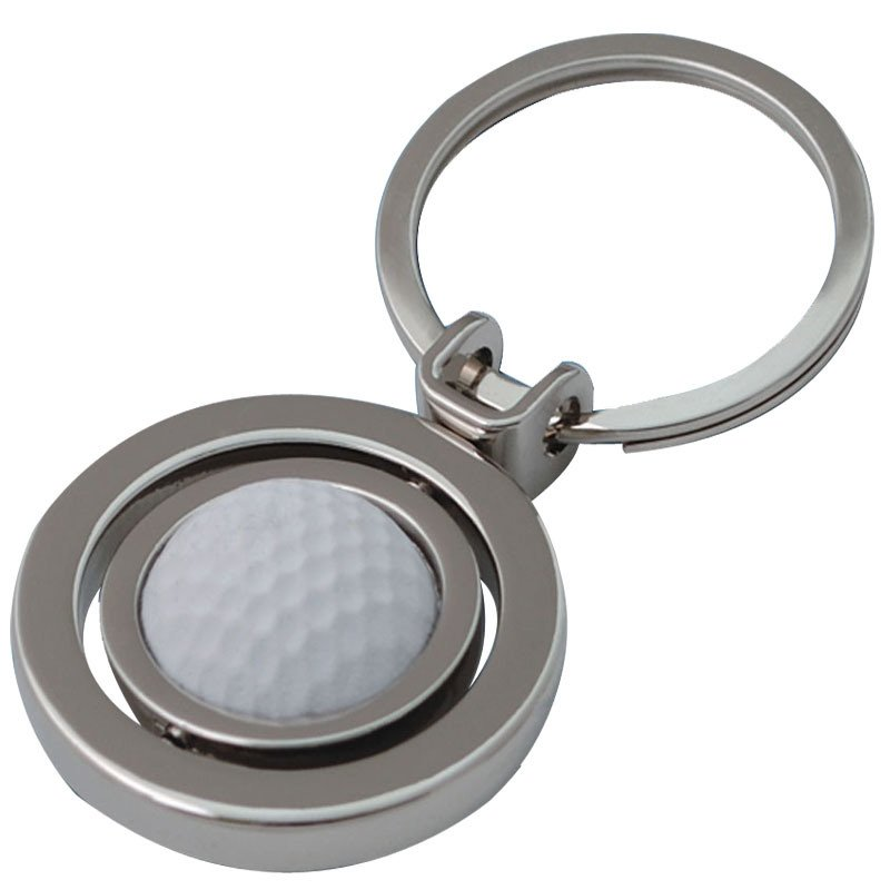 Custom Promotional Gifts Tennis Ball Keychain
