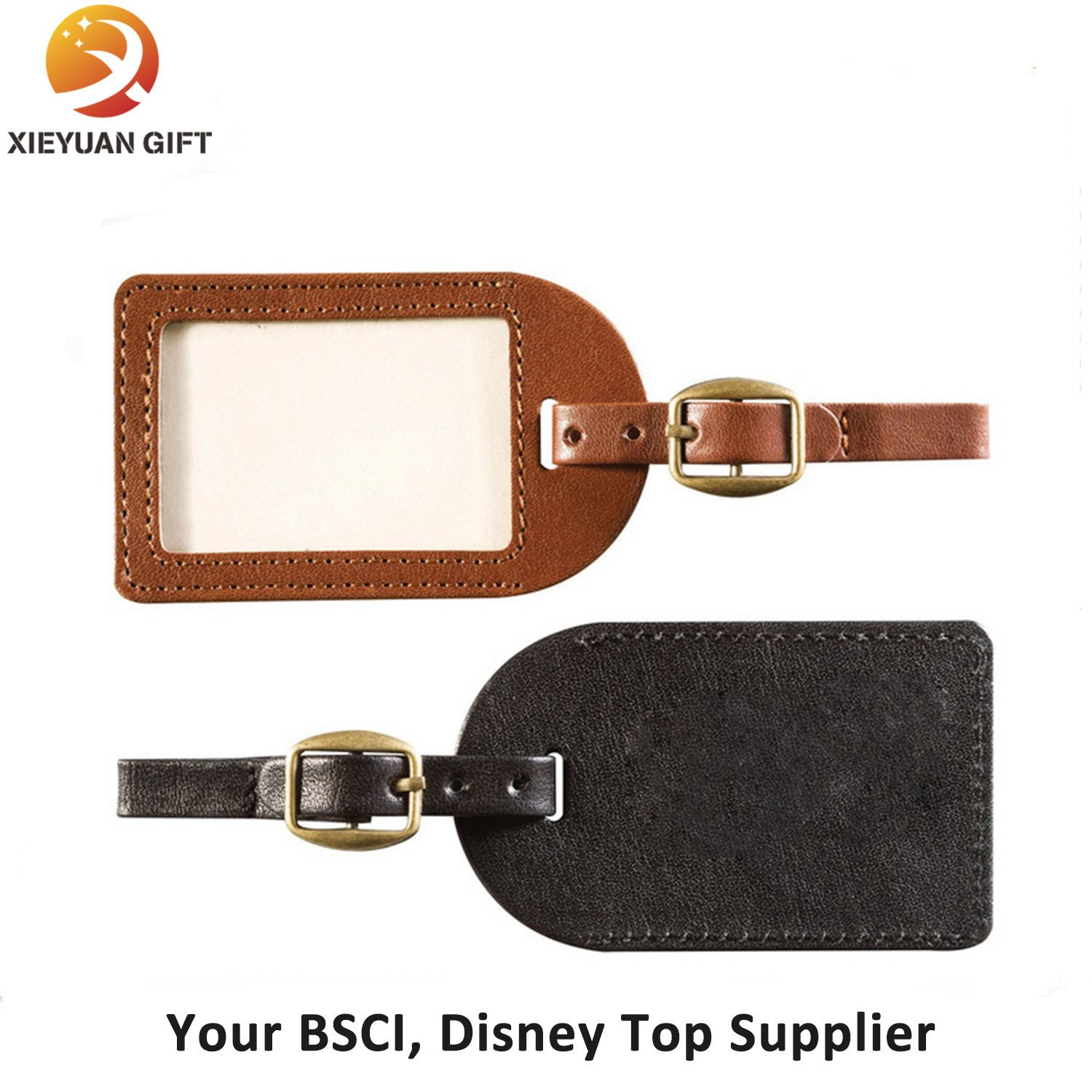 Rubber Material and Tag Type Silicone Luggage Tag