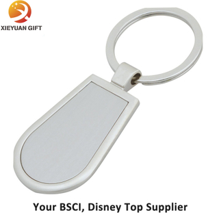 Zinc Alloy Metal Blank Keychain with Design Your Logo