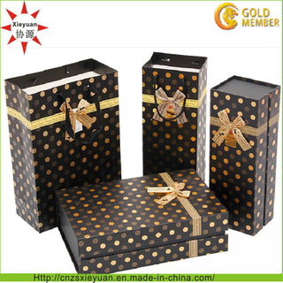 High Quality Custom Paper Gift Bag and Box