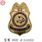 Promotion Gifts Eagle Metal Police Badges with Safe Pin