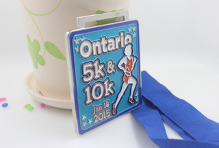 Custom Soft Enamel Sports Souvenir Medal