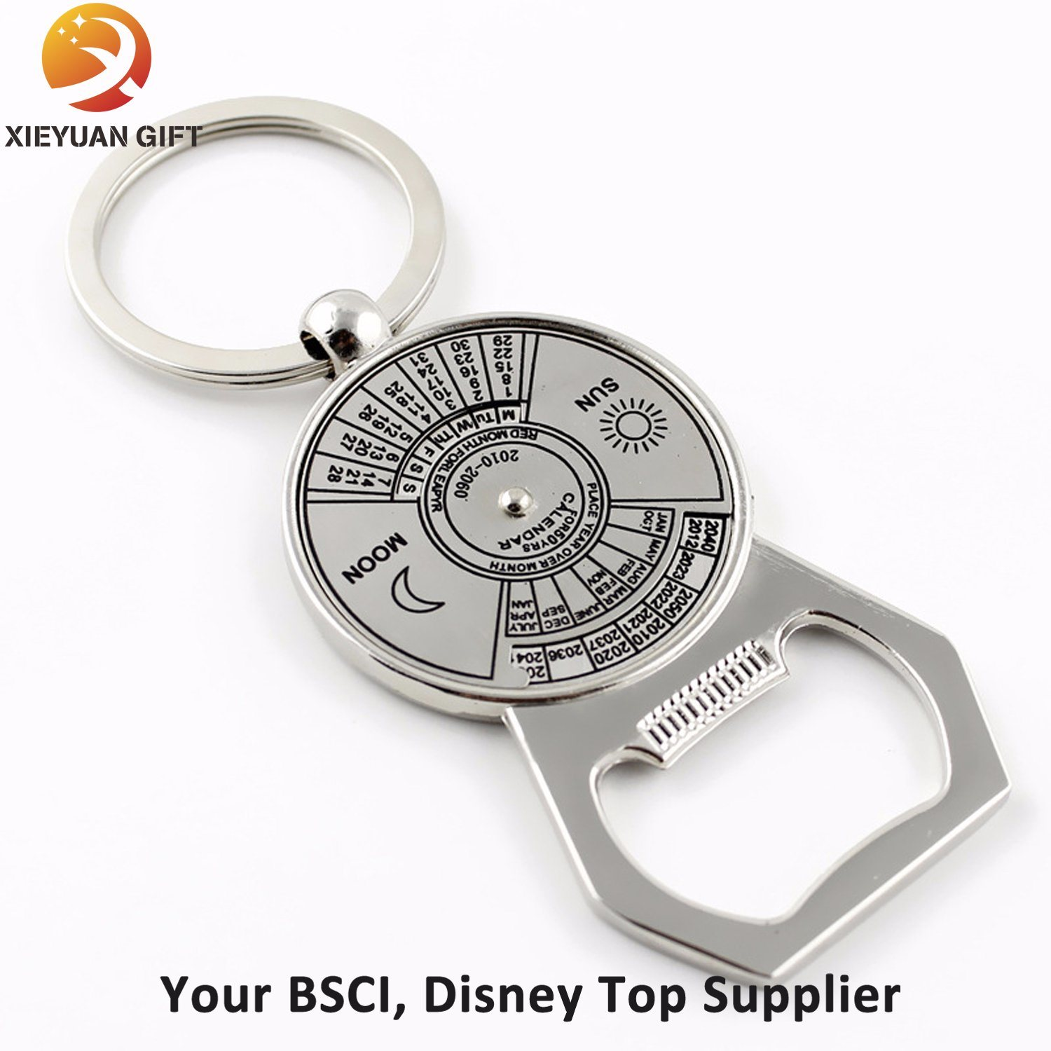 Custom Zinc Alloy Metal Opener with Painting Colors