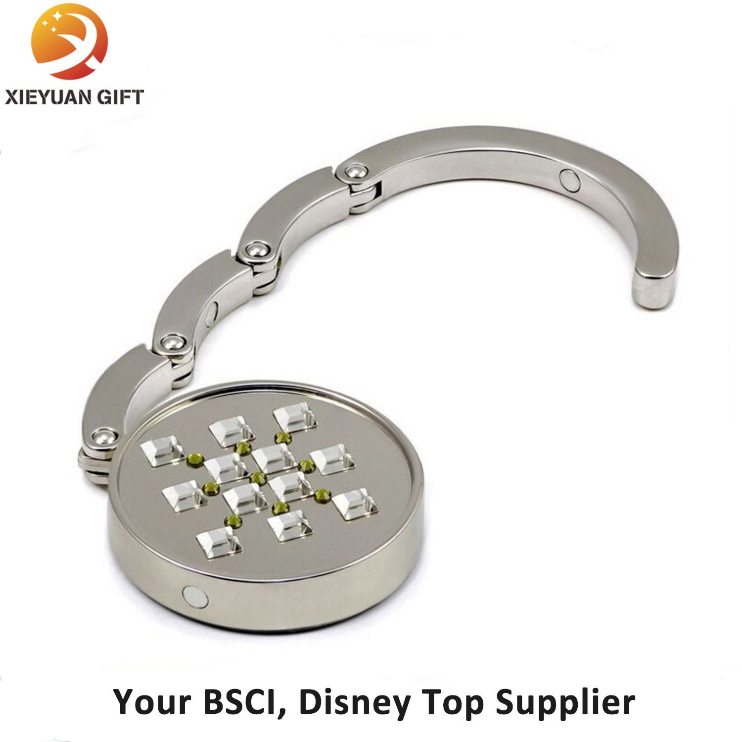 Promotional Metal Custom Logo Purse Hanger Hook