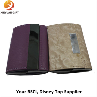 Making Promotional Leather ID Card Holder/Name Card Holder