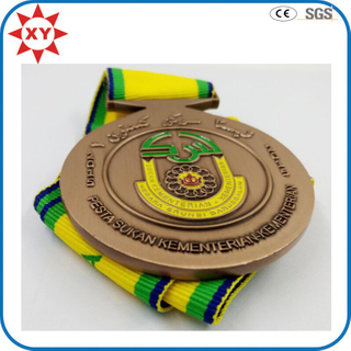 2015 Award Sports Souvenir Metal Medal with Ribbon