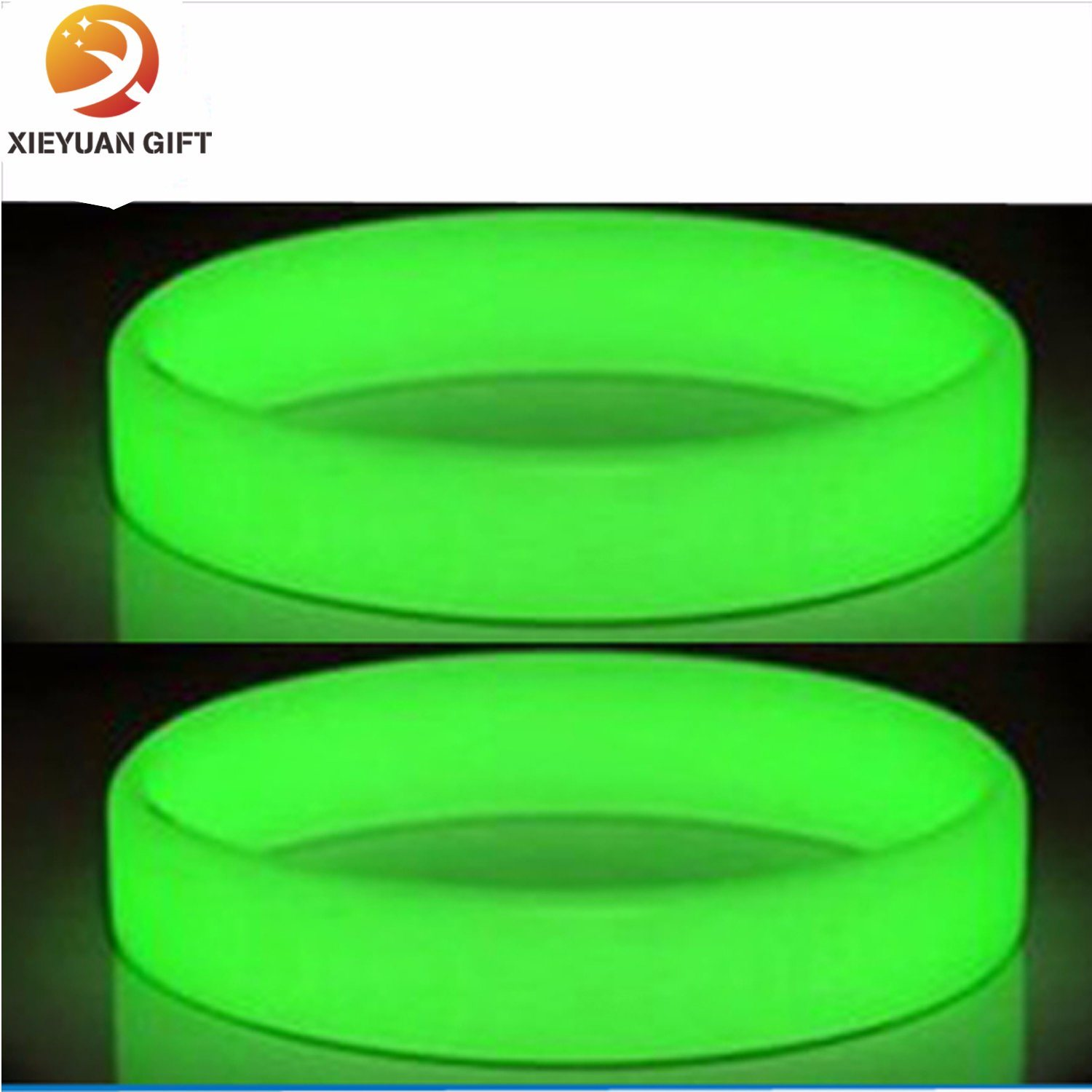 Silicone Fluorescent Light Wristbands Bracelets Party Accessories