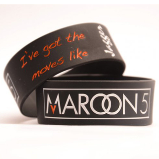 1inch Rubber Wristband