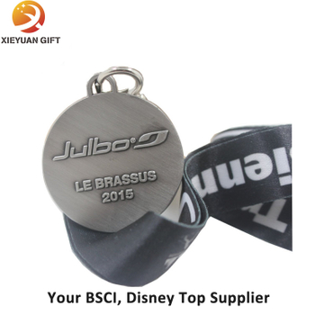 High Quality Silver Medal with Ribbon