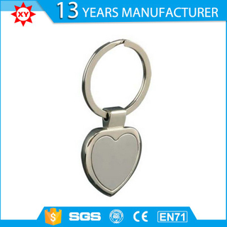 Promotional Items Heart Shape Alloy Metal Key Chain