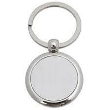 Promotional Gift Round Metal Custom Keychain
