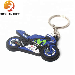 Factory Wholesale Custom Handsome Motorcycle Key Chain