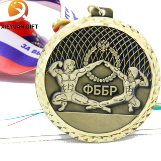 BSCI direct Factory main Customized 3D Aerobics gold medal