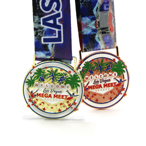 Professional factory do custom metal sport medal