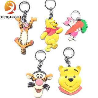 Factory Custom Cartoon Pvc Key Chain